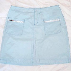 3for15$ pale blue skirt with pockets